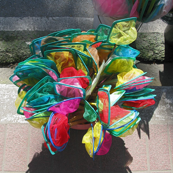 A Bouquet for You...of Handheld Fish Nets!