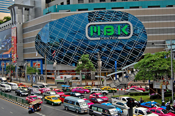 MBK Shopping Mall with crazy traffic!  photo by Nik