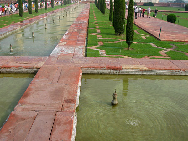 Gardens of the Taj Mahal