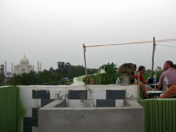 Rooftop at Shanti Lodge