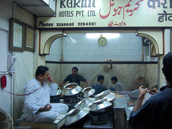 Delhi, Karim Restaurant