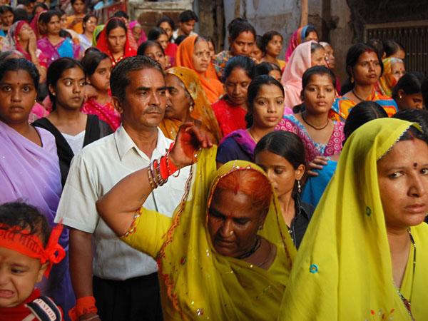 Udaipur, The Ladies Parade