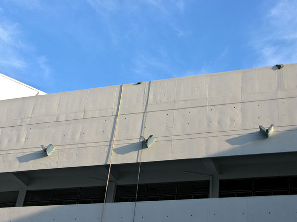 The Physics Building at Chiang Mai University...a study in details and color