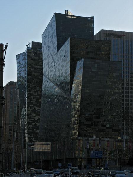 Contoured Facade office building