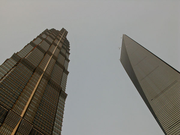 HSBC Jin Mao and WFC Towers