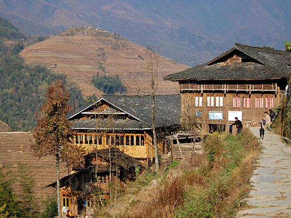 ...DaZhai village...