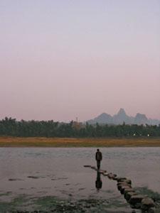 Nik on the Li River