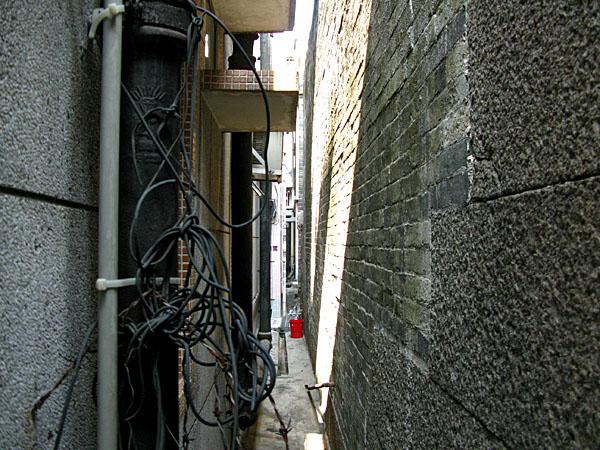 Twelve Inch Utility space
