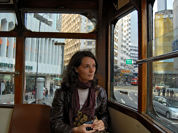 Me on the Streetcar