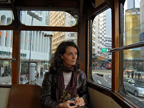 Me on the Streetcar