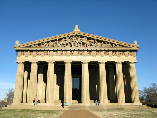 "The Parthenon...because Nashville is the ""Athens of the South""...whatever that means!"