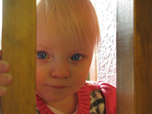Just one more of this adorable little girl! She has the Sinz blue eyes.