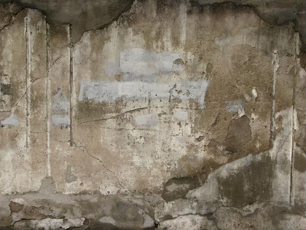 A concrete wall