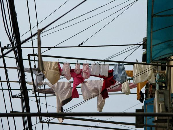 Panties on a Pole
