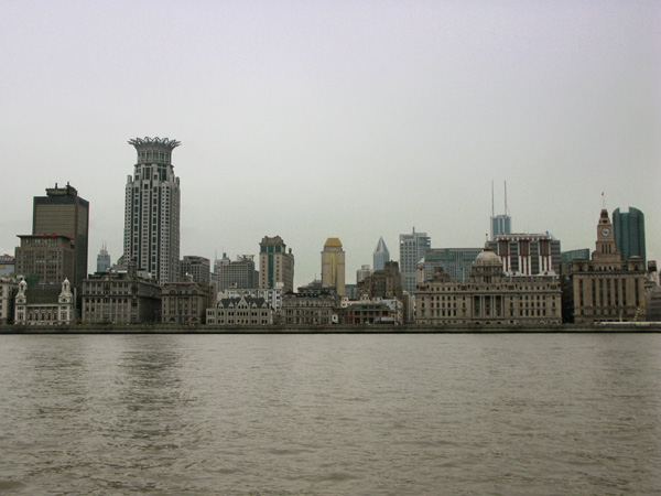 The Bund seen from Pudong
