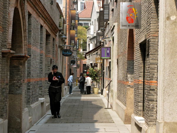 The back alley of Xiantandi