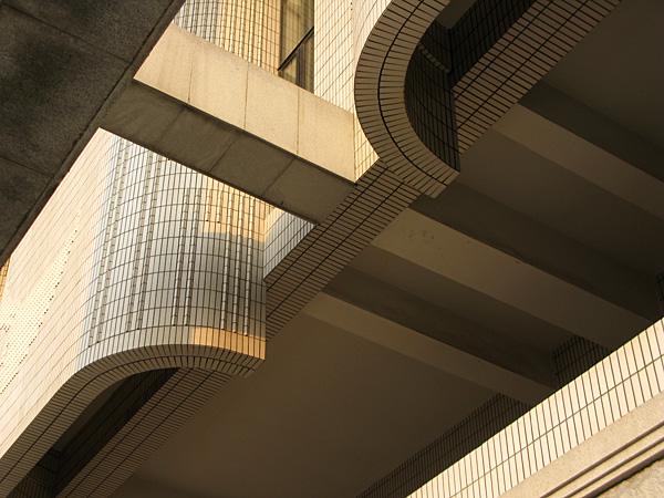 Complex facade detail