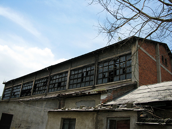 """One of """"The Sculpture Factory"""" buildings"""