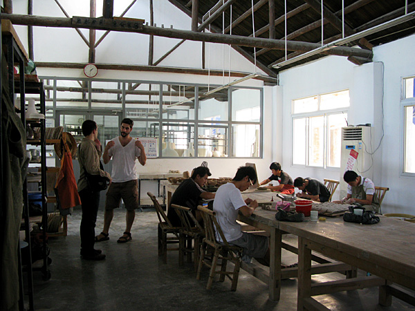 The Pottery Workshop design studio