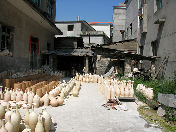 The Sculpture Factory: Drying work