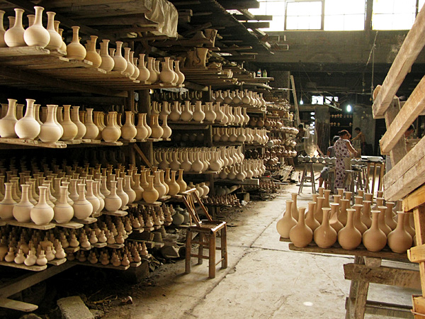 Factory Shelves