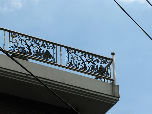 Terrace detail
