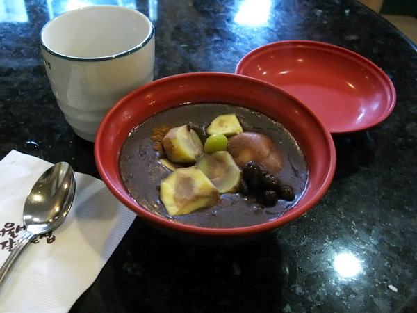 Patjuk - Red Bean Porridge