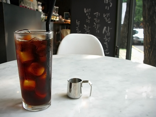 Syphened Iced Coffee
