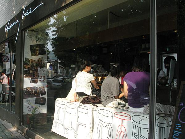 Bar Stools at Cafe Chen