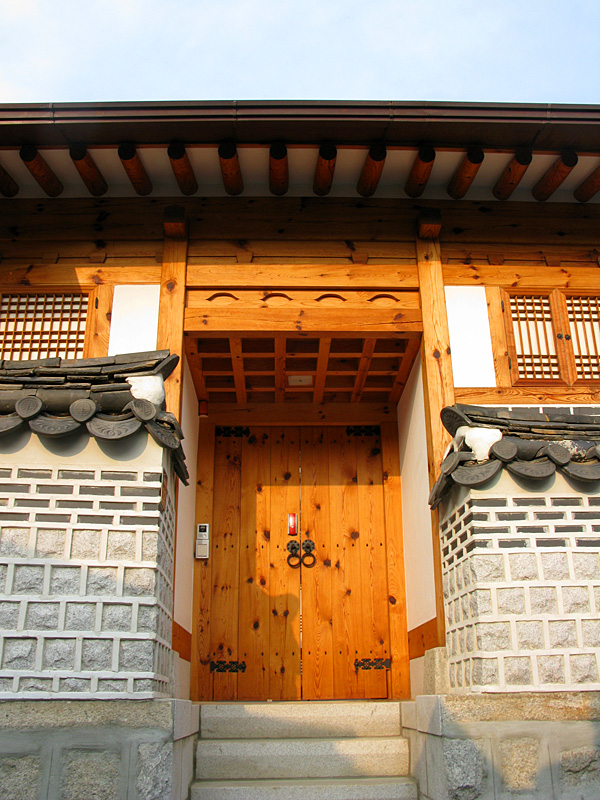 Traditional Hanok style house