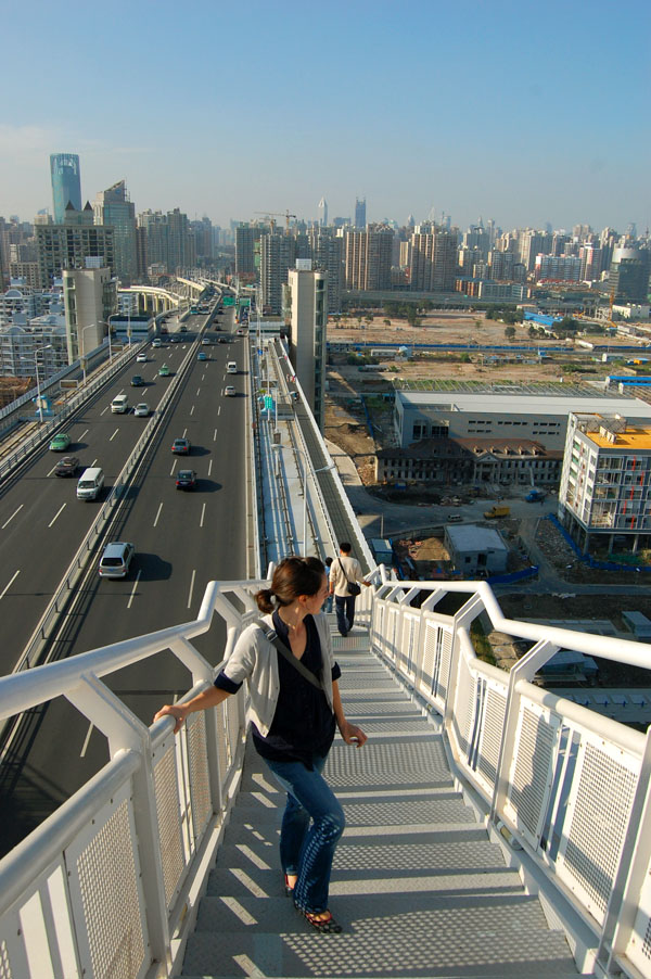 Climbing the Lupu Bridge