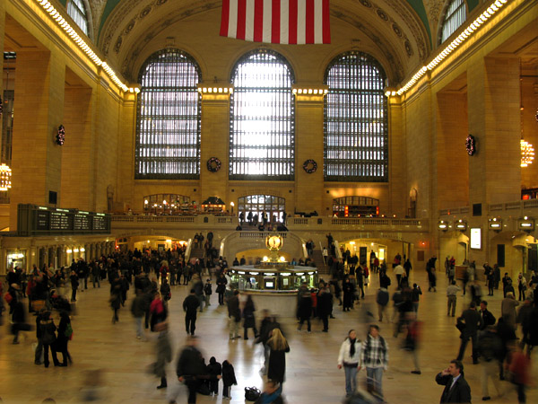 The Main Terminal at Grand Central Station