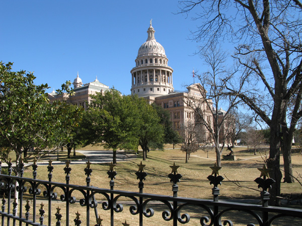 The Texas Capital Building
