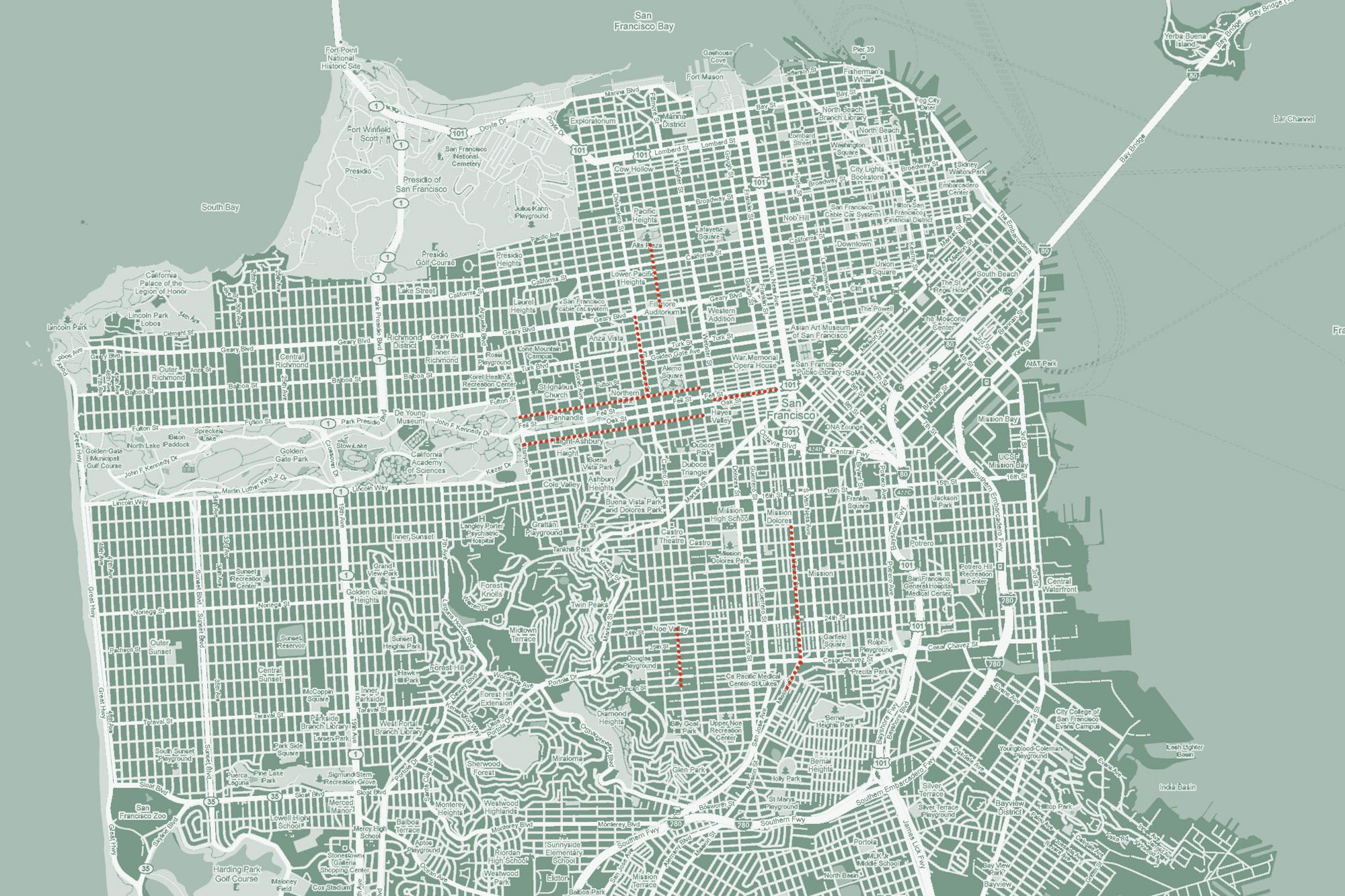 San Francisco Streets | Jamie Sinz
