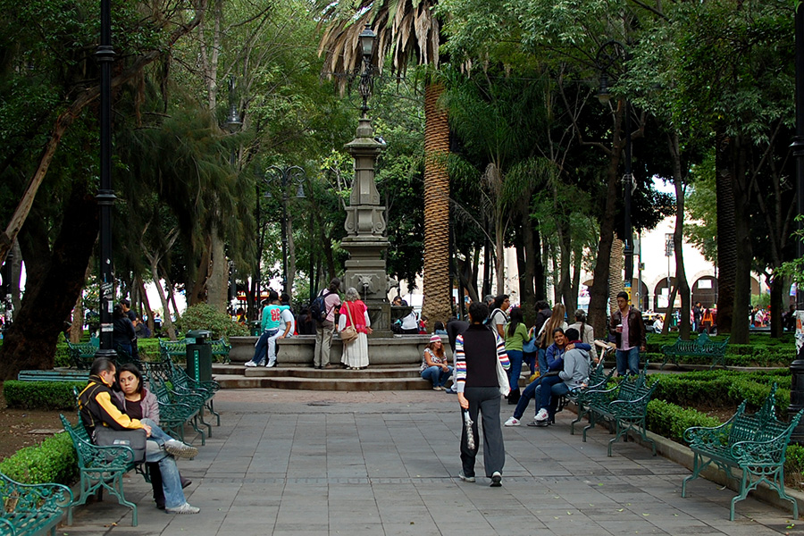 Jardin Centenario