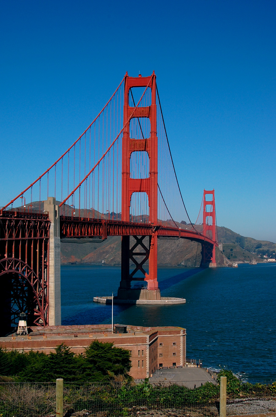 I will never tire of seeing the Golden Gate Bridge
