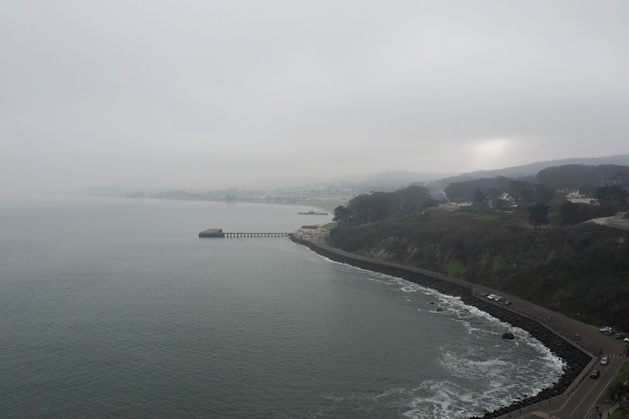 From the Golden Gate Bridge