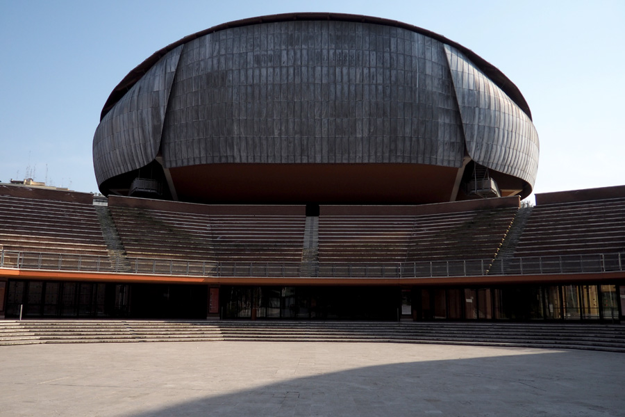 One of the Three venues at Auditorium Parco Del Musica by Renzo Piano