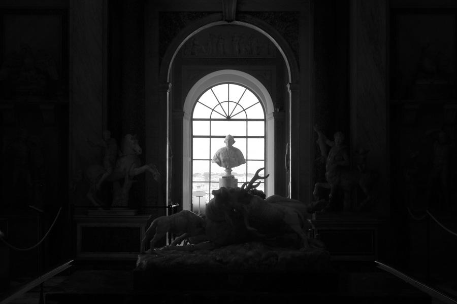 The Vatican Museum animal room