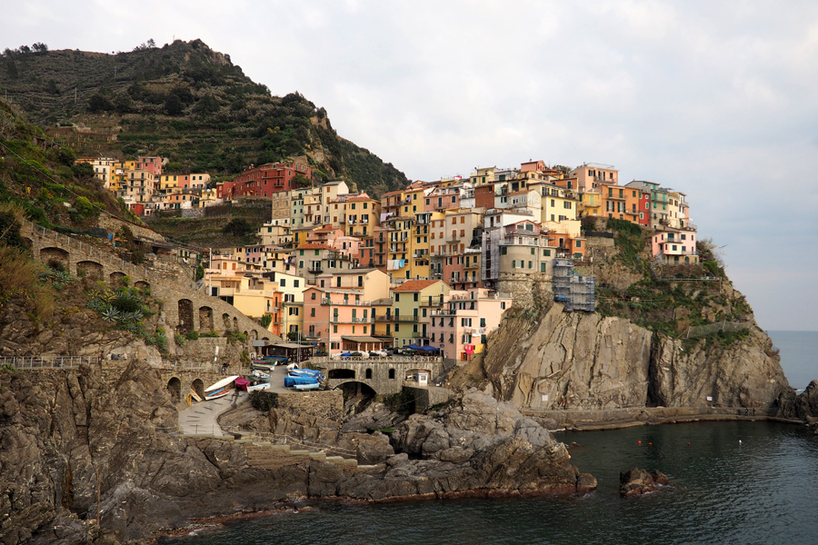 Manarola from the south
