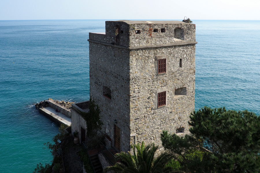 The Monterosso Castle - now a private residence