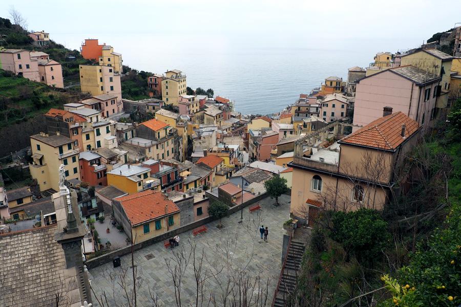 Riomaggiore, where the Great River once ran