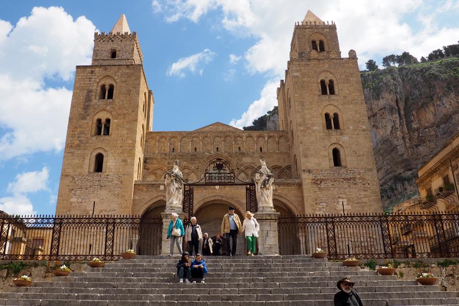 The Cefalu Duomo