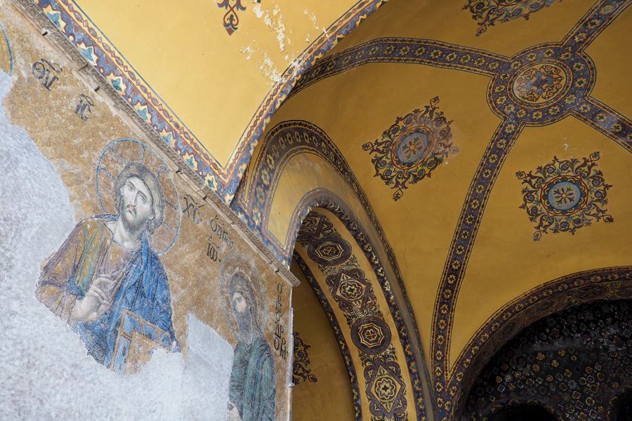 Mosaic of Hagia Sophia