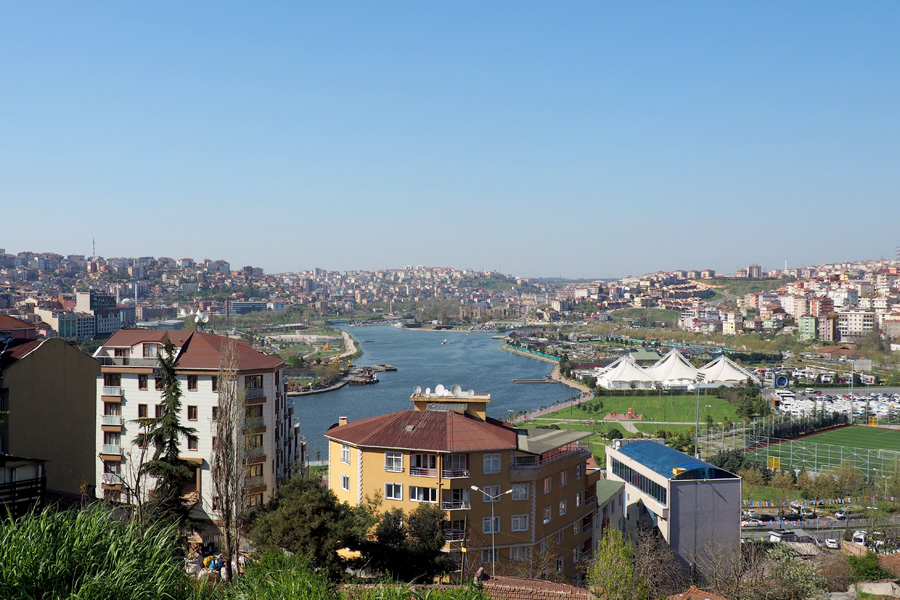 The tip of the Golden Horn