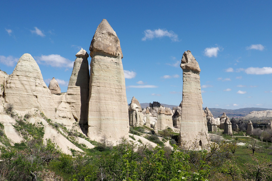 "A valley named ""love valley"" because of the phallic rock formations"