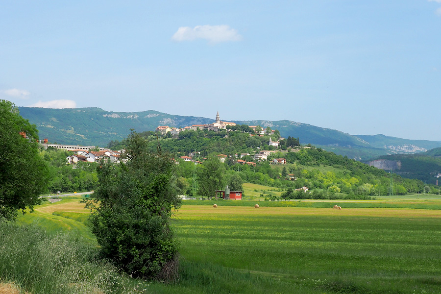 The hill town of Buzet