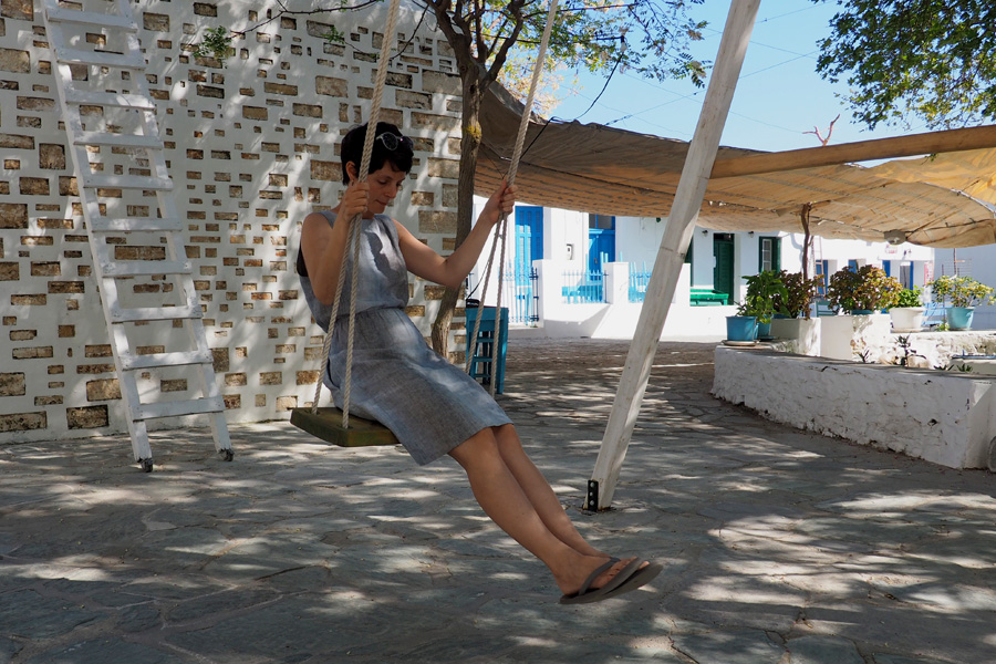 The adult swing in the Dounavi Square