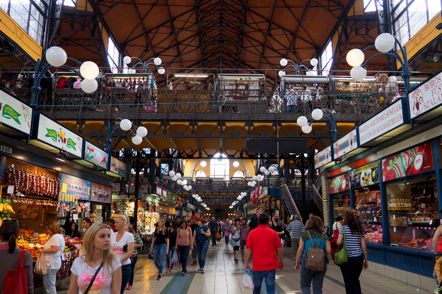 The rebuilt central market