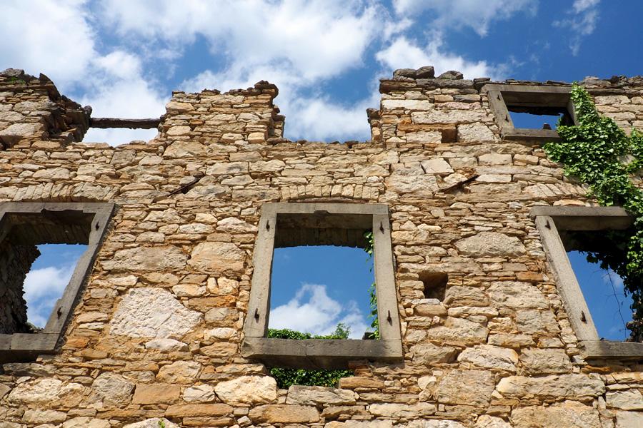 Ruins & Blue Skies